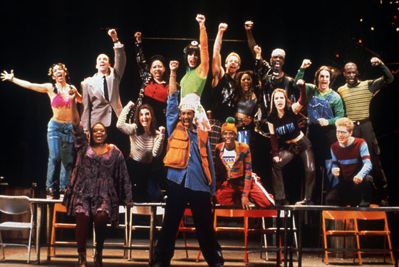 Cast del musical Rent
