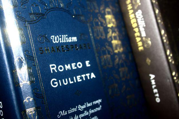 Copertina del'opera teatrale Romeo e Giulietta
